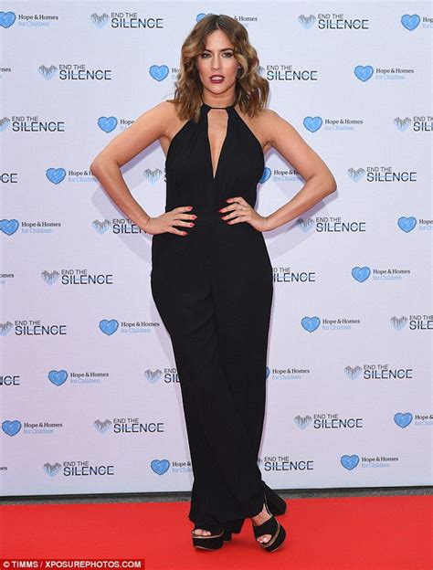 Caroline Flack Sugar Detox by Caroline Flack Flashes A Hint Of Sideboob As She Showcases
