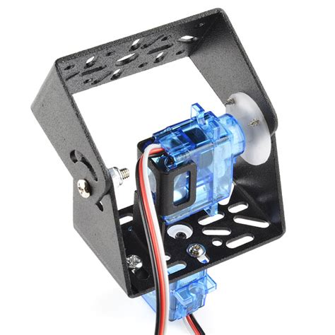 Brecket Mini Servo Kamera Breket tracking with a pan tilt servo bracket sparkfun electronics