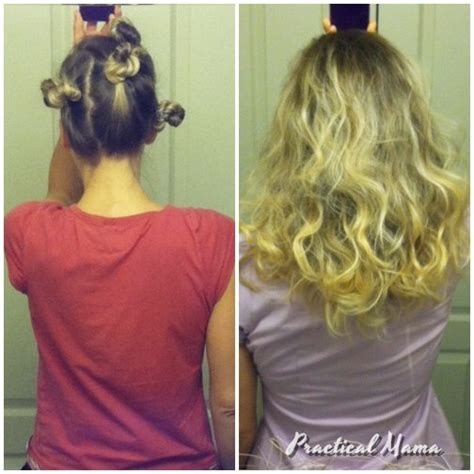 how to curl your hair overnight easy way to curl your hair overnight practical mama
