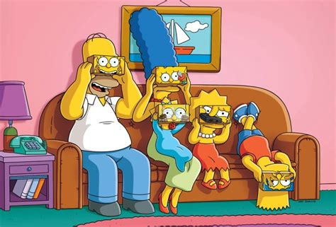 the simpsons com couch gag vr couch gag set for landmark 600th episode of the