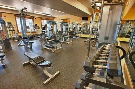 new homesource workout facility at the community center in idyllwilde