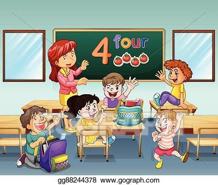 Diverse Classroom Clipart