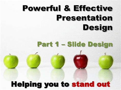 design effective powerpoint presentation simple powerful effective powerpoint presentation slide