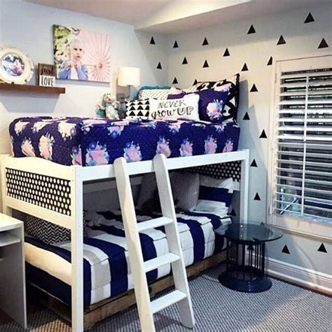 boy girl shared room bunk beds need beddy s zipper