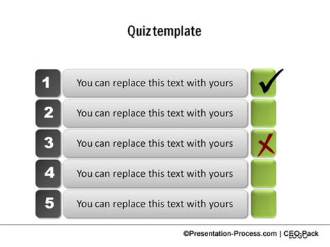 Create A Quiz In Powerpoint Quiz Powerpoint Template
