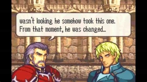 Sacred Stones emblem the sacred stones cormag duessel support