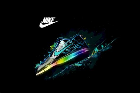 Nike Logo and Nike Air Shoes Wallpaper for Android, iPhone