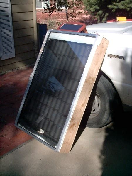 diy solar air heater for chicken coop garage shed