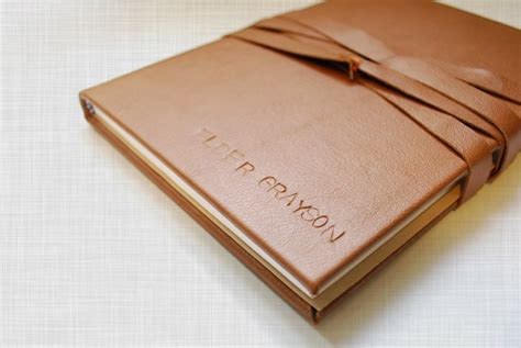 Handmade Leather Journal Tutorial - 15 handmade gifts to your loving husband