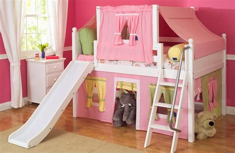 girl beds with slides kids love slide beds shop top selling bunks lofts with