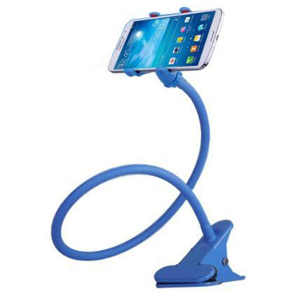 Phone Holder Stand Lazypod Mobile Phone Monopod Tripod 8 1 lazypod mobile phone monopod tripod 8 1 blue
