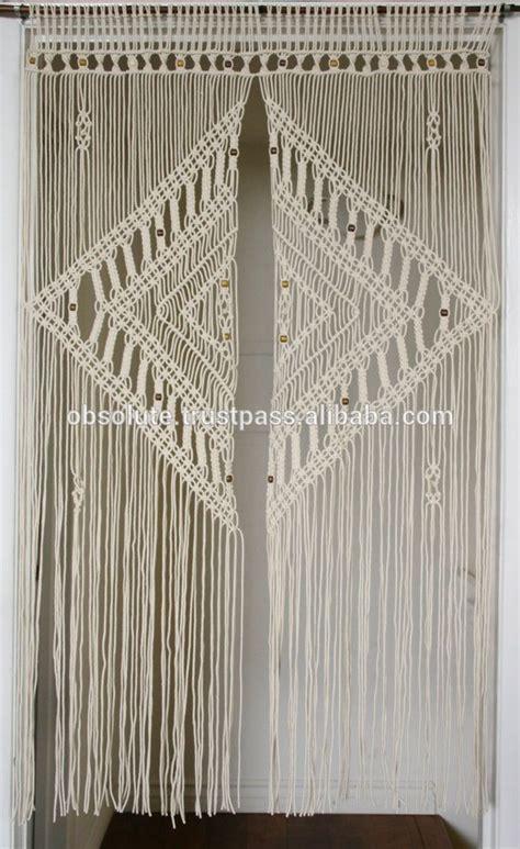 large macrame curtain wedding curtains buy large macrame