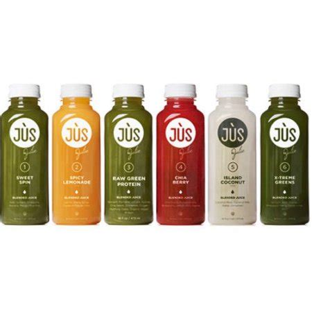 Liquid Detox Walmart by Jus By Julie 3 Day Blended Juice Cleanse Kit 18 Pc