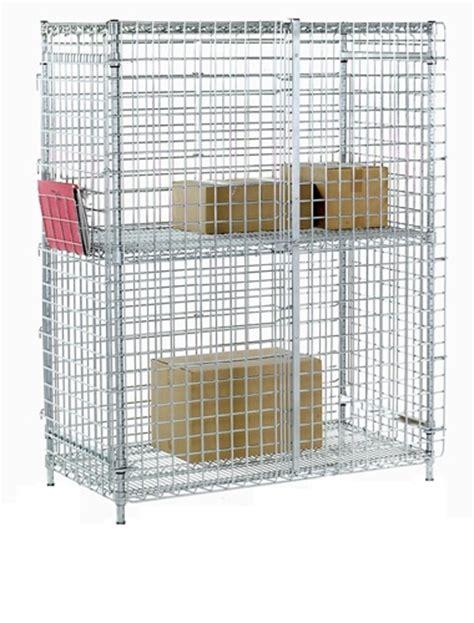Nexel Security Shelving Unit Wire Shelving Shelf Lock