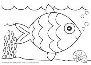 printable toddler coloring pages fish kids pre writing