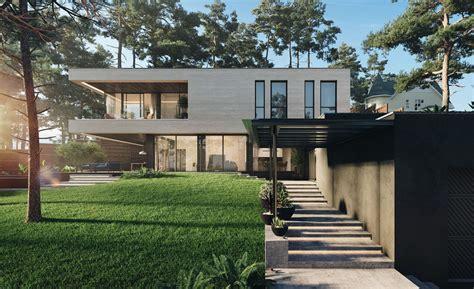 riverside modern house design kiev ukraine
