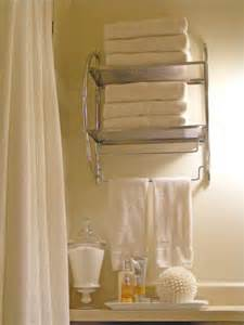 Bathroom white wall mounted bathroom towel and utility
