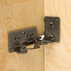 Cabinet Door Concealed Hinges Snap Closing Semi Concealed Hinges For 3 8 Quot Inset Doors 4 Rockler Woodworking And Hardware