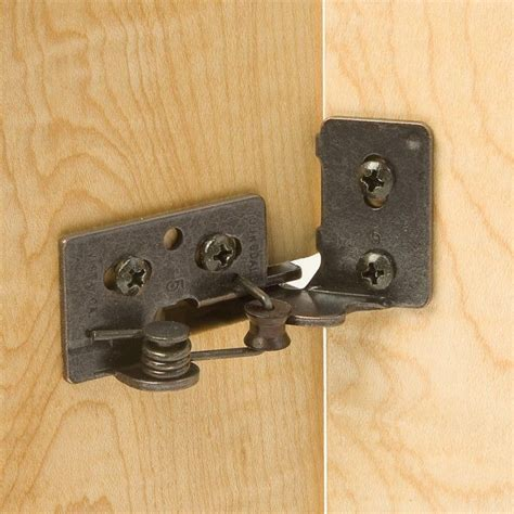 Hinges For Cabinets Doors Snap Closing Semi Concealed Hinges For 3 8 Quot Inset Doors 4 Rockler Woodworking And Hardware