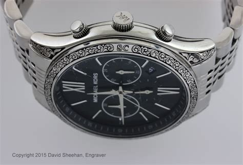 engraved wrist david sheehan engraver
