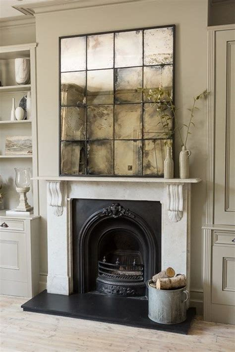 Decorate Large Wall 25 Sophisticated Antique Mirror Ideas For Your Home Digsdigs