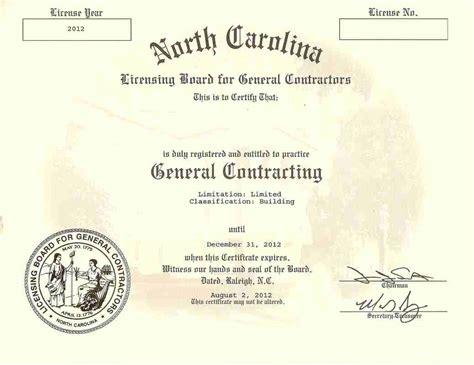 Plumbing Contractors License by Contractor License For Plumbing Plumbing Contractor