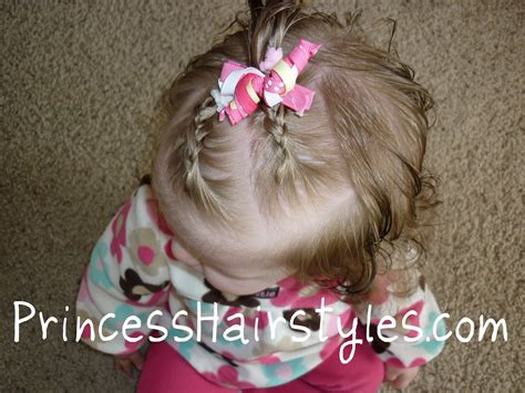 Braided Hairstyles For Babies | tiny french braids baby hairstyles hairstyles for