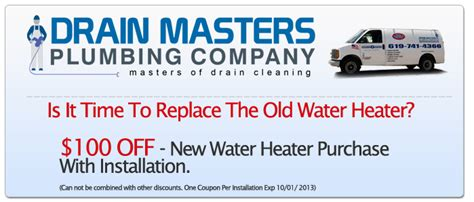 southern california edison tankless water heater rebate water heater repair replacement and service san diego ca
