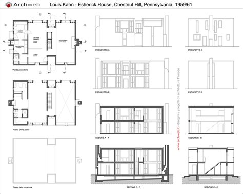 louis kahn floor plans 1000 images about esherick house on pinterest house