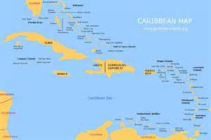 Caribbean Cruise Map by Map Of Caribbean Islands Images