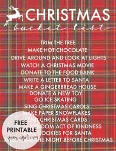 printable christmas bucket list 187 jenny collier blog