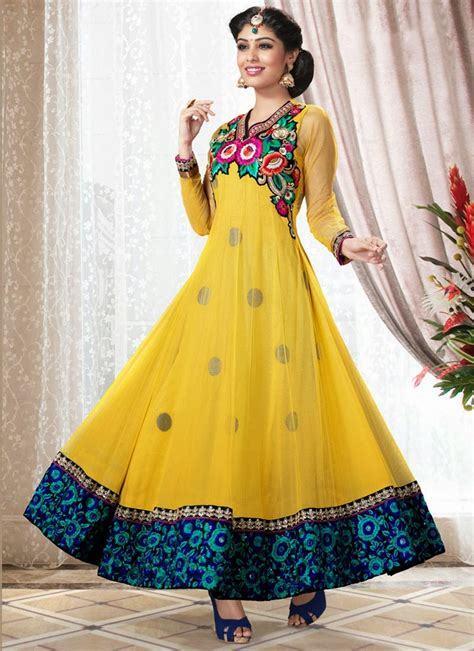 latest party wear frocks dresses 2014 for girls frock suit party wear designs latest designs for girls