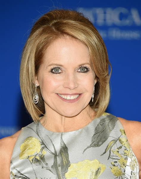 katie couric hairstyles over the years katie couric hairstyles 2015 katie couric bob hair