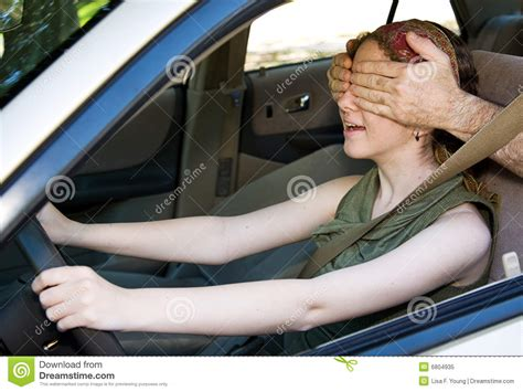 Blind In One Eye Driving driving blind royalty free stock photo image 6804935