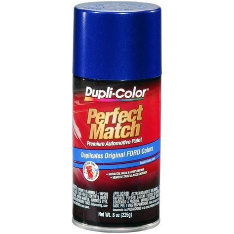 duplicolor bfm0378 for ford code sn sonic blue pearl 8 oz aerosol spray paint ebay
