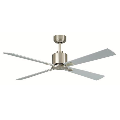 hunter contempo ceiling fan hunter contempo 52 in indoor brushed nickel ceiling fan