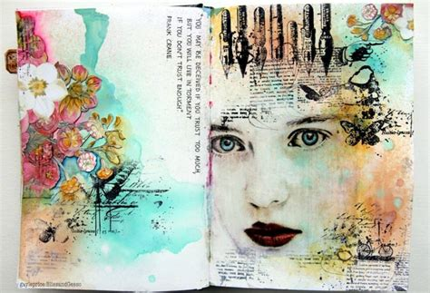 art design education journal 10 art journaling ideas dawn nicole designs 174