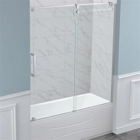 ove bathtub doors shop ove decors eilat 58 78 in w x 59 in h bathtub door at