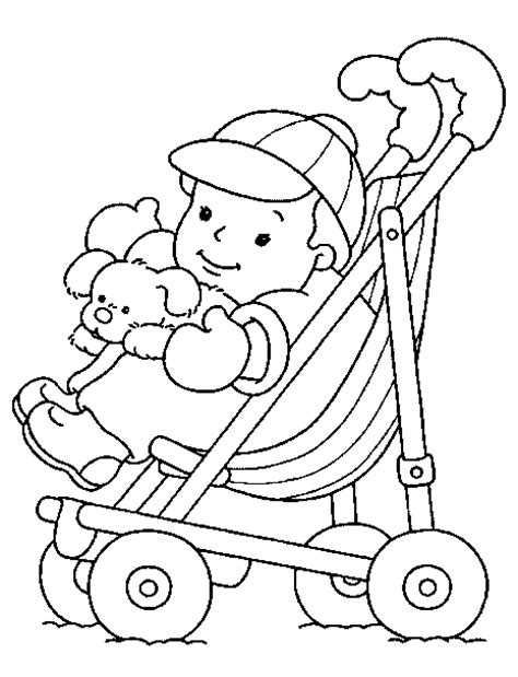 Coloring Page Baby by Baby Coloring Pages Free Printable Pictures Coloring