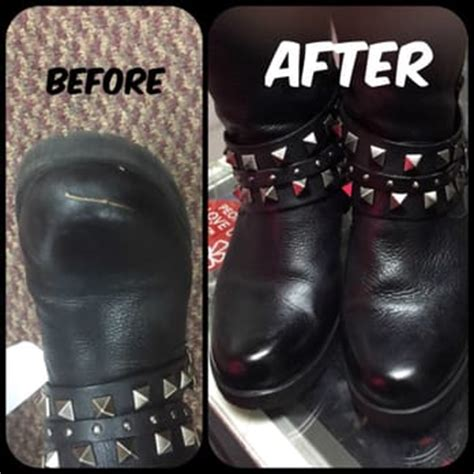 gt shoe repair shop scuffed the leather on my boots and