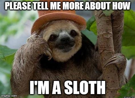Sloth Meme Maker - image tagged in slothy wonka imgflip