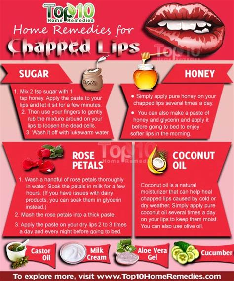 home remedies for chapped top 10 home remedies