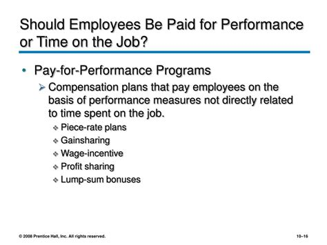 Should Employers Pay More For An Mba by Ppt Motivating And Rewarding Employees Powerpoint