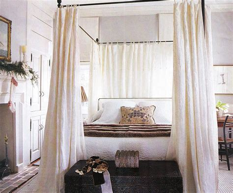 diy canopy bed with curtain rods diy canopy curtain rod curtain menzilperde net