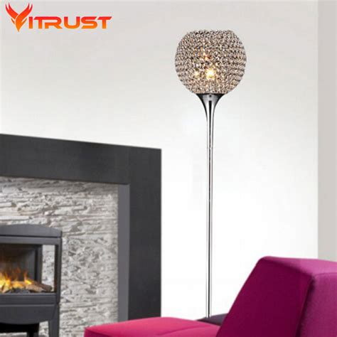 beautiful crystal floor lamps bedroom table floor lights