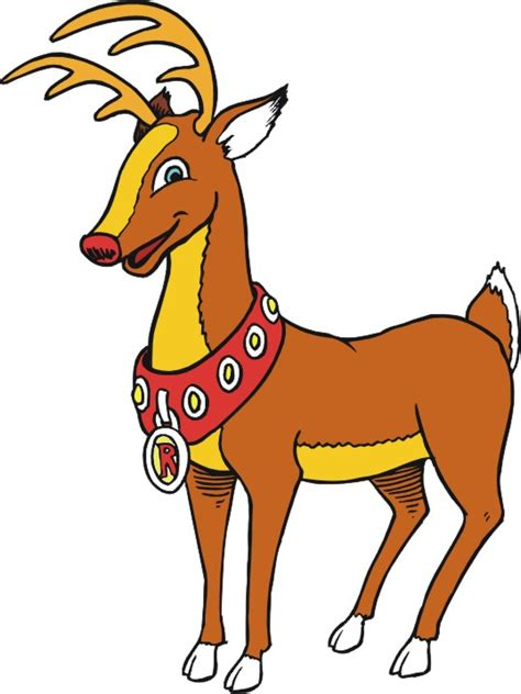 cartoon reindeer images clipart best