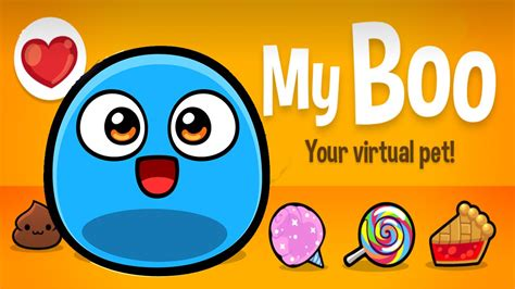boo  virtual pet game  kids androidios hd