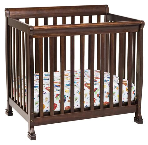 davinci mini crib davinci kalani mini crib espresso n cribs