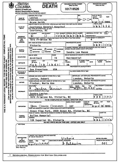 Bc Birth Records Columbia Birth Marriage And Records National Institute Genealogy