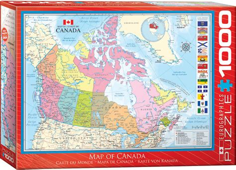 canadian map puzzle map of canada